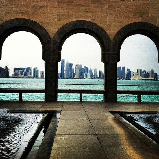 The impressive Doha Skyline