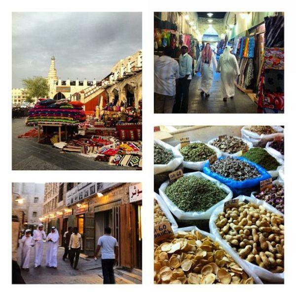 The Souq Wakif in Doha
