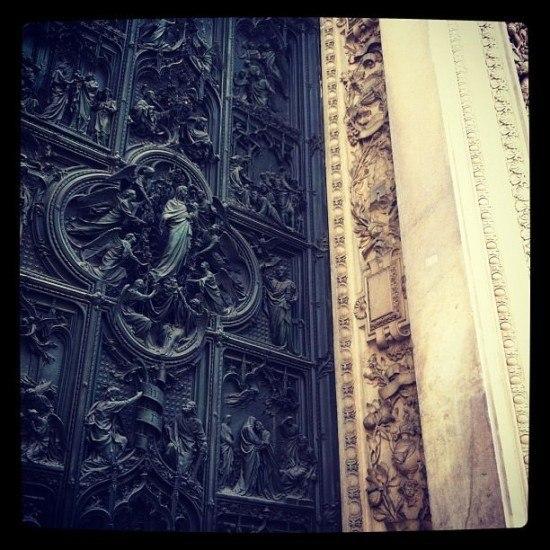 Duomo door detail
