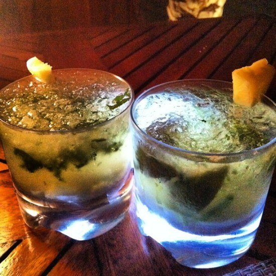 Pineapple and Ginger mojitos - yes please!