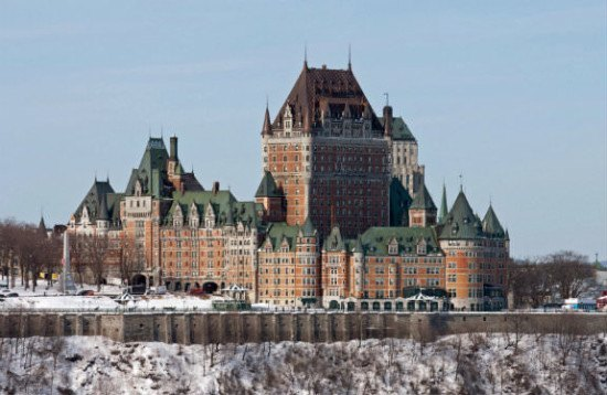 I like the look of this Chateau in Quebec
