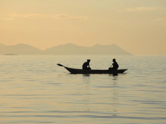 Fishermen in Cape Malawi