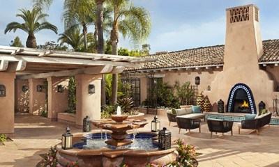 Southern California at its best. I adored Rancho Valencia.