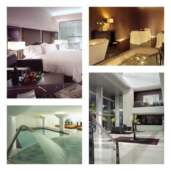 The sleek Sheraton Porto Hotel & Spa