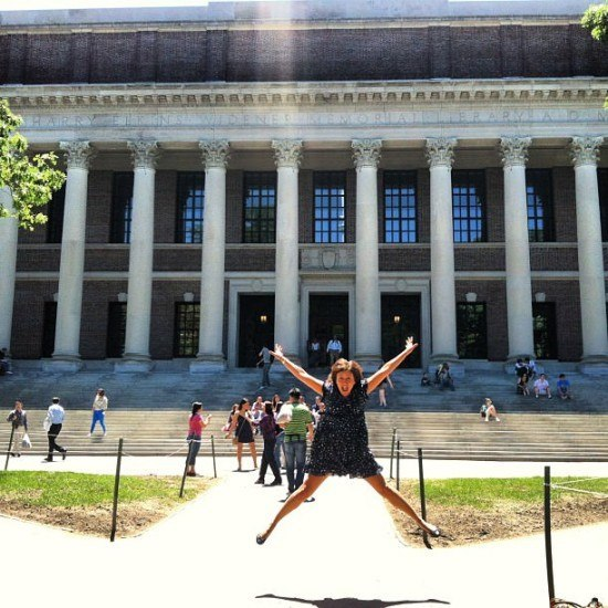 The smartest jump I have ever done.. at Harvard, of course!