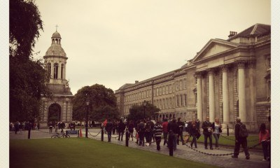 Wouldn't mind coming back for a bit of studying here... - Trinity College, Dublin