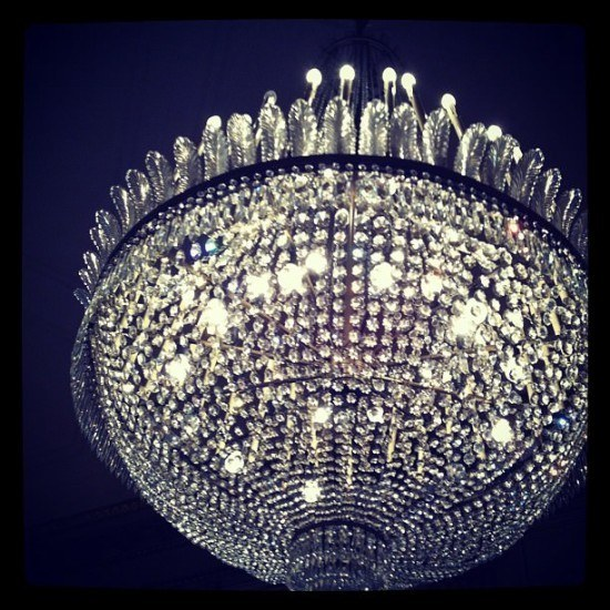 Loved the chandeliers at La Scala