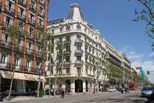 Calle Serrano, Madrid - Photo by Turespaña