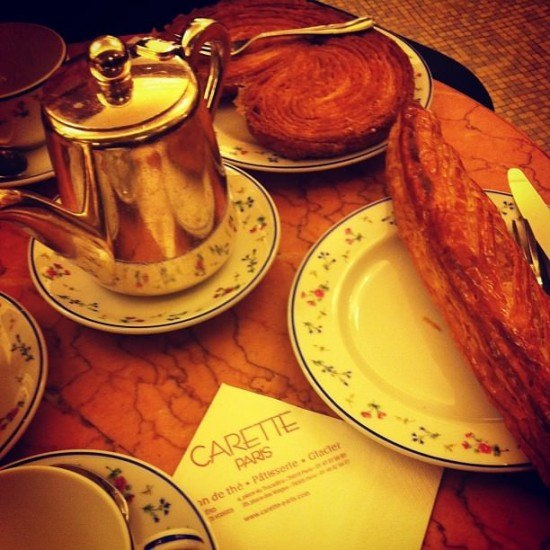 A deliciously expensive breakfast in Paris