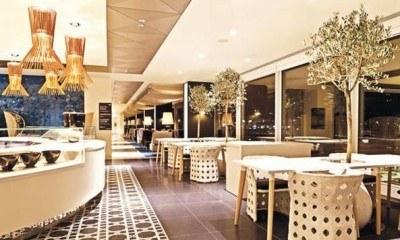 The stunning Qatar Airways premium lounge at Heathrow