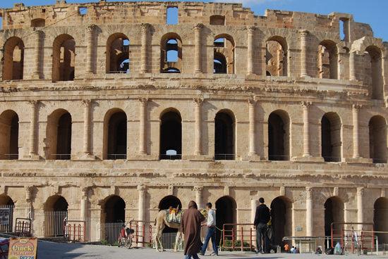 Roman amphitheatre in El Jem
