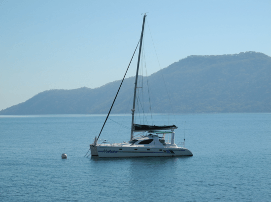 Sailing in Cape Maclear