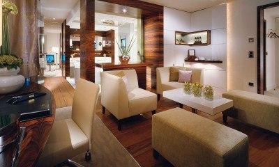 A spacious suite