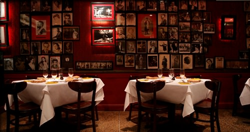 Striphouse's Rich, Red Dining Room Image courtesy of Striphouse