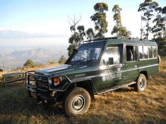 Tour of Zomba Plateau given by Sunbird Ku Chawe Hotel