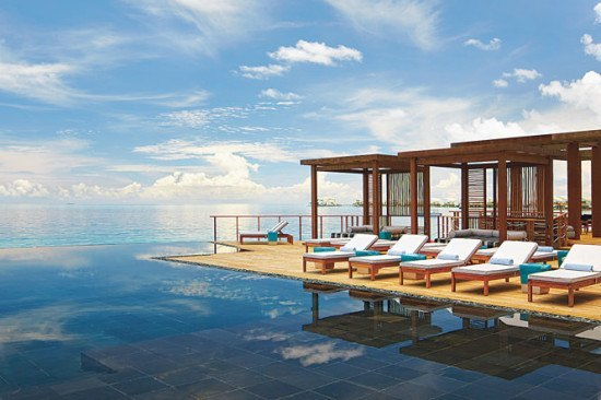 "A ""pool"" at he Viceroy Maldives"