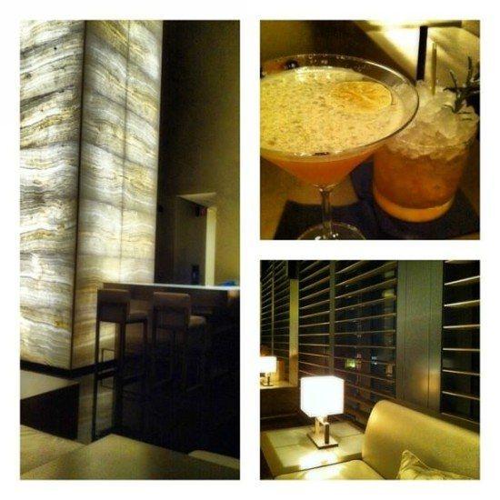 Aperitivo at the Armani Hotel