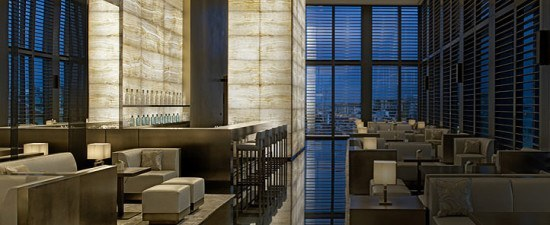 The Armani Bamboo Bar - an oasis of calm and exceptional design