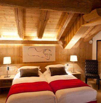 Stylish but super comfortable rooms at Aspen Lodge