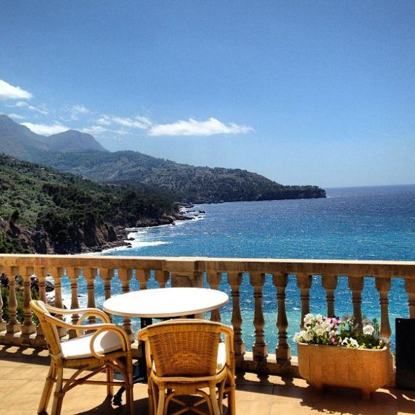 Bens d'Avall Michelin restaurant A luxury long weekend in Mallorca view
