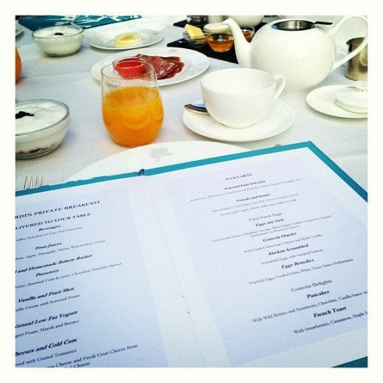 "Loved the concept of the ""El Jardin Private Breakfast"""