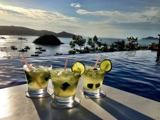 Caipirinhas with a view - Photo by Rui Santos