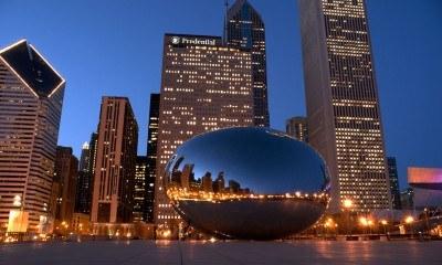 The Millennium Bean in Chicago