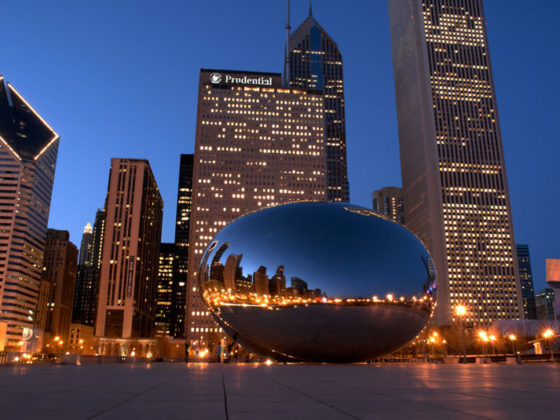 The Millennium Bean in Chicago