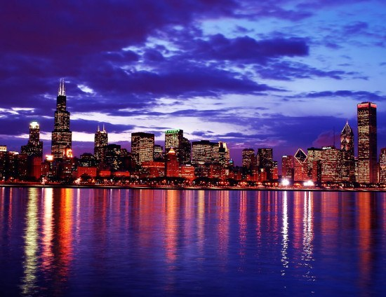 Wow, what a sight - Chicago Skyline. Copyright protected