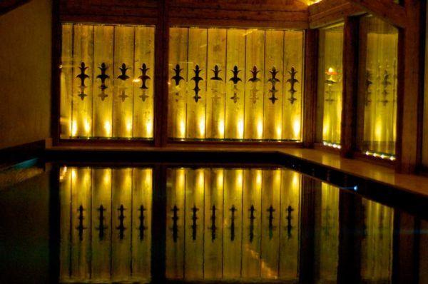 La Cordée des Alps' stunning spa - photo by Leah Walker
