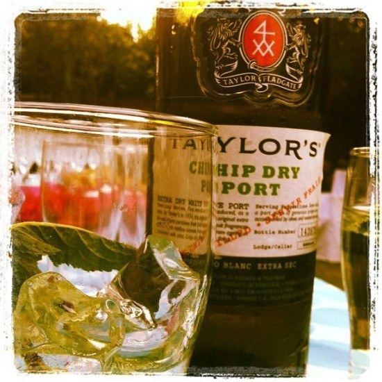 I loved trying White Port and Tonic