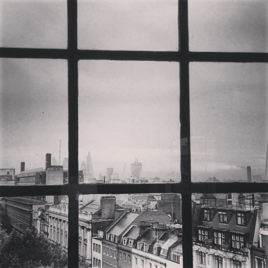 A room with a London view