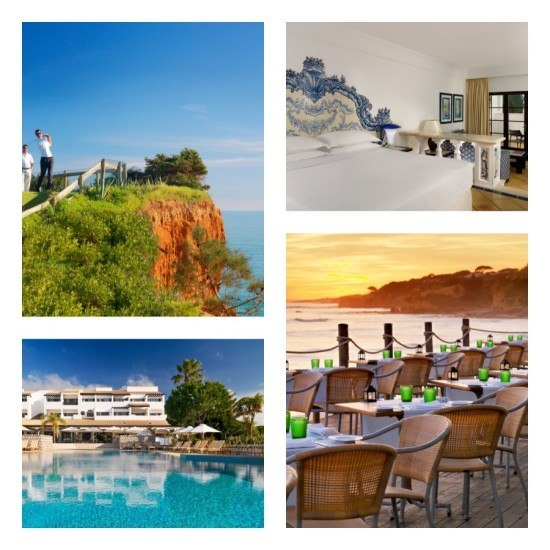 One of the reasons Mr O is delighted to have married a Portuguese.. the Sheraton Algarve