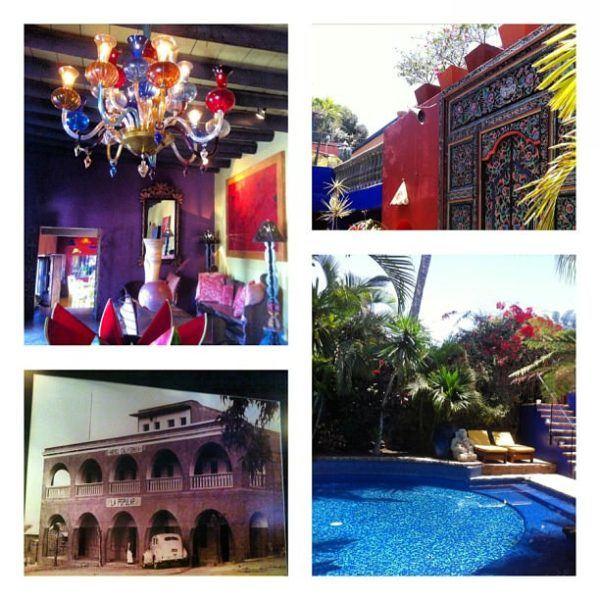 Hotel California in Todos los Santos, Mexico