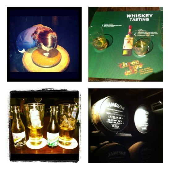 Some of my favourite moments at Jameson's Distillery