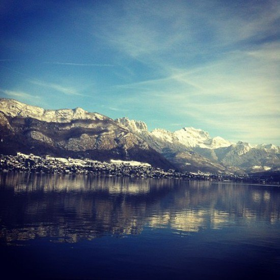 The stunning Lac d'Annecy