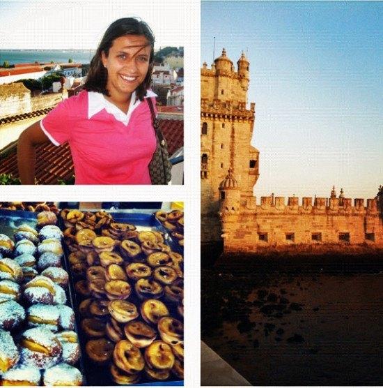Lisbon or Lisboa - the home of the magic custard pastries, and Mrs. O