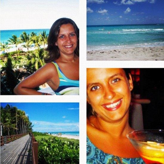 "Miami Beach, my first ""beach"" of the year"
