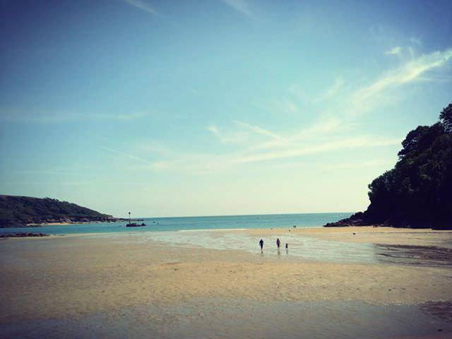 North Sands beach, Devon