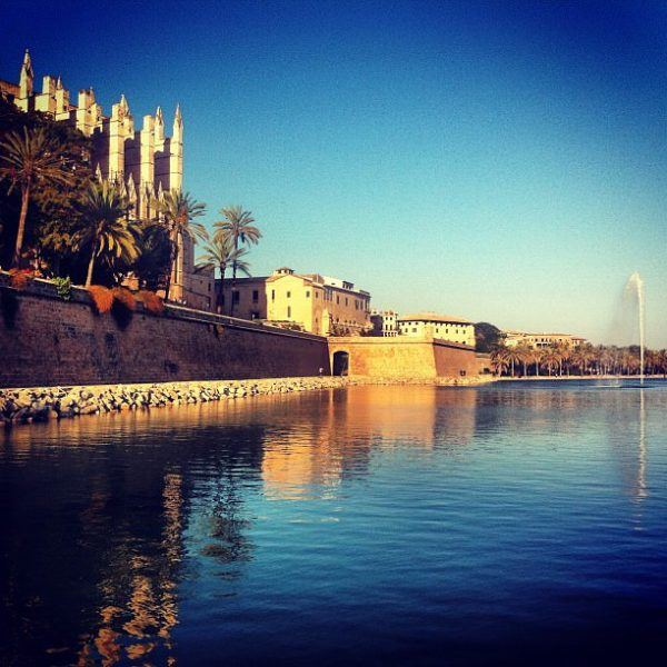 A luxury long weekend in Mallorca - cathedral in Palma