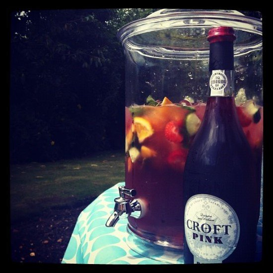 Croft Pink Rosé Port Sangria - the real deal