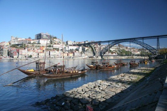 A view of Porto - a lovely city