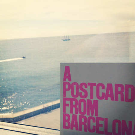 "Hope you enjoyed reading my ""postcard"" from Barcelona"