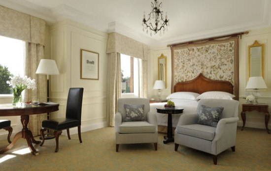 The stunning Belvedere Suite