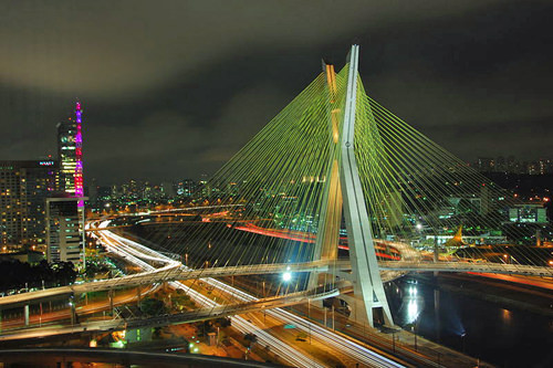 São Paulo, one of the largest cities in the world