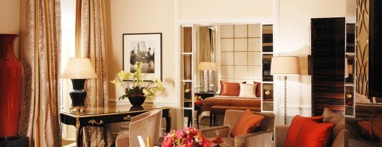 We loved our suite at Baur au Lac