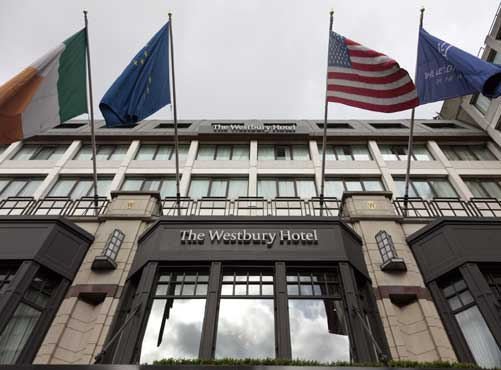 The Westbury Hotel in Dublin