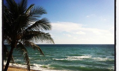 My beach in Hollywood... Florida!