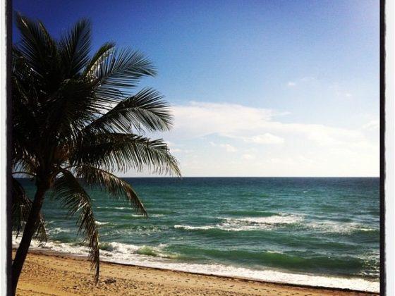 My beach in Hollywood... Florida!